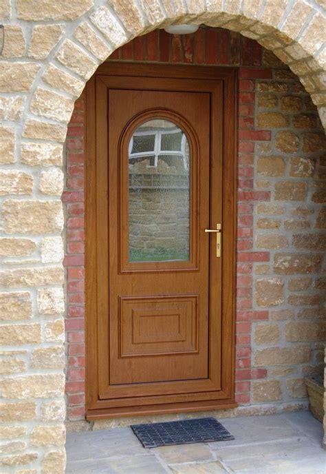 Brown Front Door Upvc Doors Smiths Glass