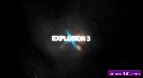 trapcode explosions after effects project revostock