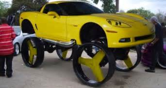 Truck With Big Wheels For Sale Donk 10 Of The Wheels We Ve Seen On A Car Or A