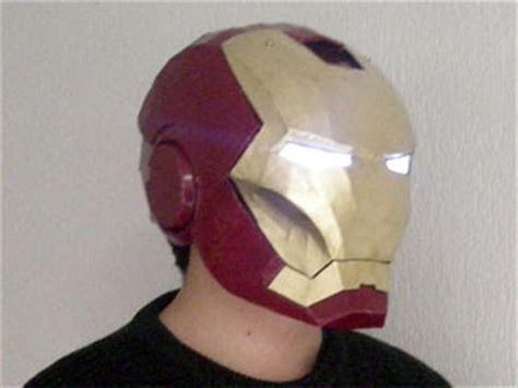Iron Papercraft Helmet - size iron helmet papercraft paperkraft net