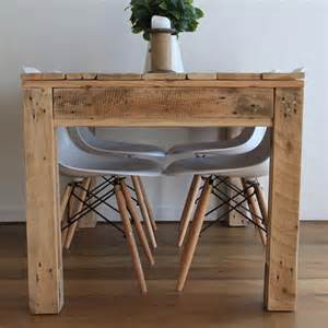 Diy Rustic Wood Dining Table Rustic Style Pallet Dining Table Pallet Furniture Diy
