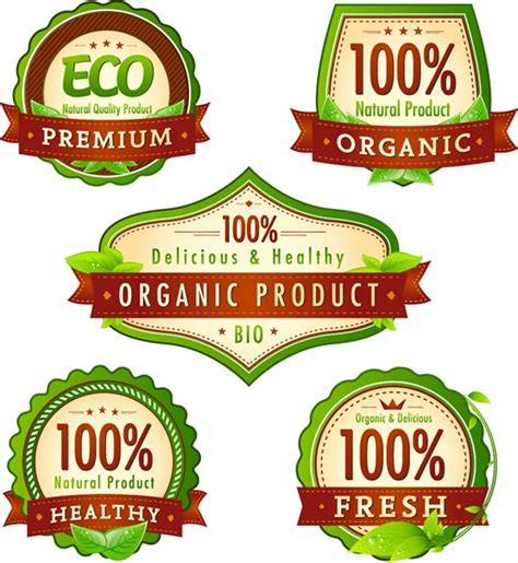 food product labels template organic food graphics collection my free photoshop world