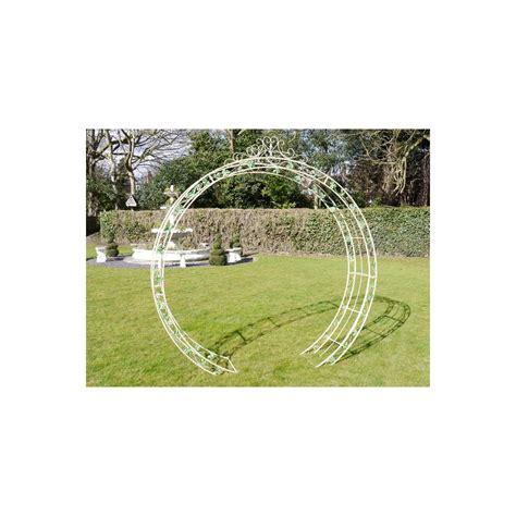 Garden Arch Circle Metal Garden Arch Swanky Interiors