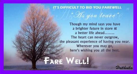 bid farewell it s difficult to bid farewell free luck ecards