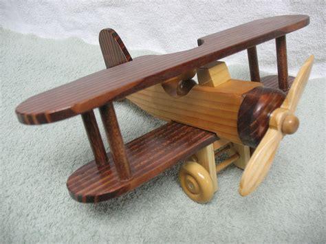wooden toy airplane  sawdustdaddy  etsy