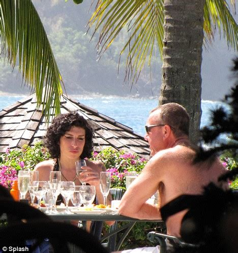 Winehouse Says She Has Quit So Much by St Lucia Officials Sends Gifts To Winehouse To Say