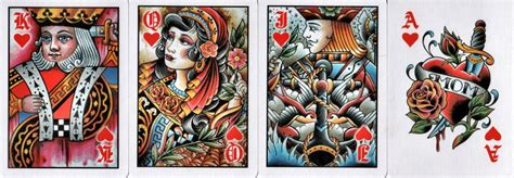 deck of cards tattoo bicycle club cards review i collect
