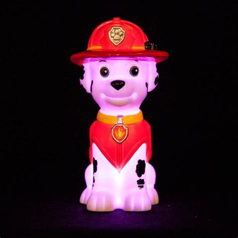paw patrol light up scooter paw patrol quot marshall quot illumi mate led colour changing