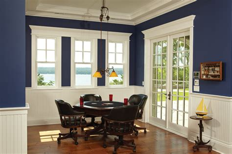 Dining Room Windows Lakeview Dining Room Traditional Dining Room By