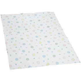 toddler trends springmaid baby waterproof crib pad big dot