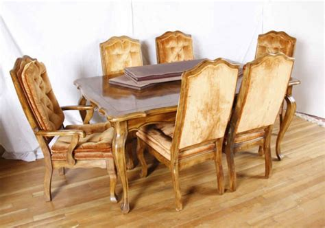 dining room table six chairs dining room table six chairs provincial pecan