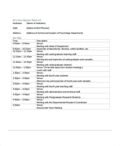 12 agenda templates free sle exle format free