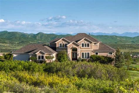 homes for sale in keene ranch subdivision of castle rock