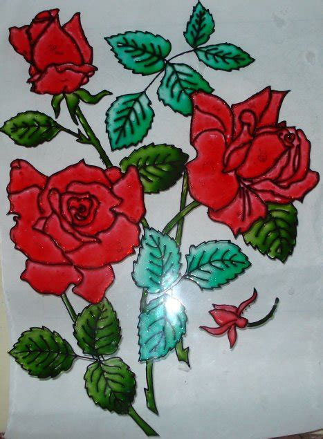 glass design flower evolution rose flower designs for glass painting www imgkid com