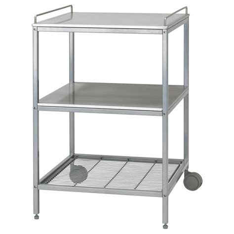flytta kitchen trolley stainless steel 98x57 cm ikea kitchen islands trolleys ikea ireland