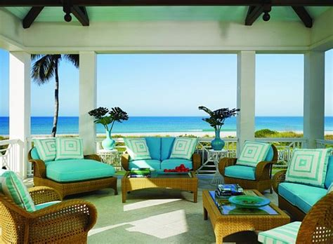 tropical colors for home interior decorating with a caribbean influence