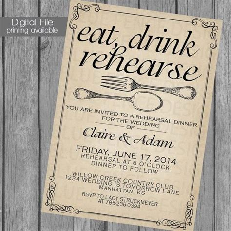 wedding rehearsal dinner invitations rehearsal dinner invitation wedding dinner dinner