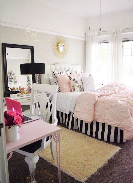 teenage girl room ideas to show the characteristic of the owner white strips teen room decor and the pop on pinterest