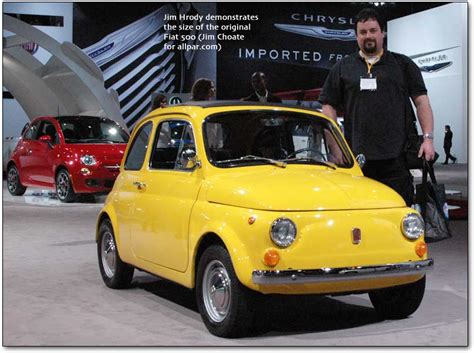 the fiat 500 the fiat car to be made by chrysler