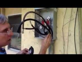 replacing 200 amp main meter center youtube
