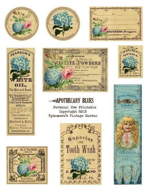free printable flowers pinterest ephemera s vintage garden free printable apothecary