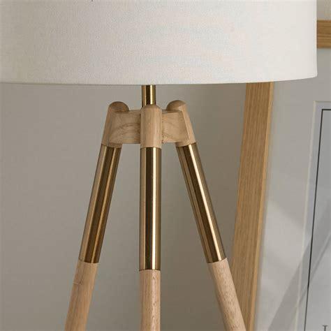 Wooden Tripod Table L by Wooden Tripod Table L By Primrose Plum