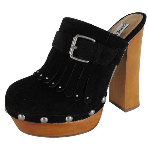 steve madden womens helgga studded mule clog shoes ebay
