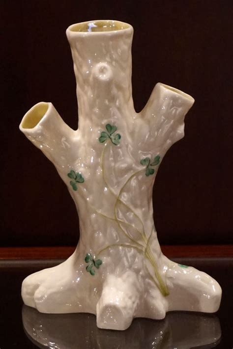 Tree Stump Vase by Belleek Tree Stump Vase Trees Vintage And Vase