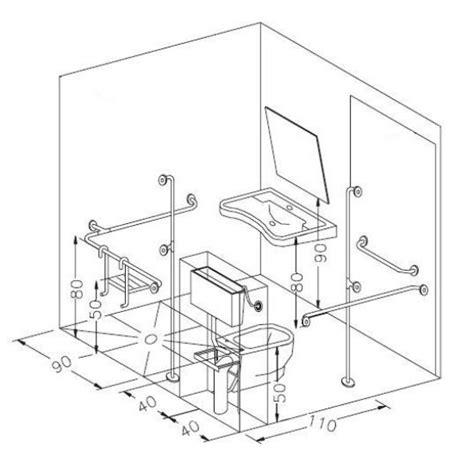 bagni handicap wc per disabili da realizzare in alloggi privati regole