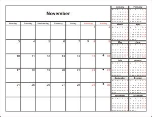 Calendar Layout Calendar Wizard Base Layout Types