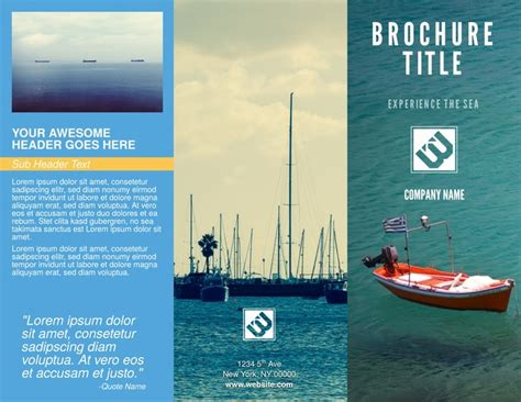 brochure layout maker free brochure templates exles 20 free templates