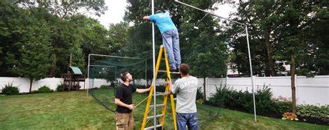 baseball batting cages for backyard batting cages baseball backyard dealer installer long island ny deck and