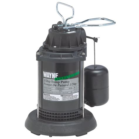 Plumbing Pumps by Buy Wayne Spf Series Submersible Sump 1 2 H P 4300 Gph