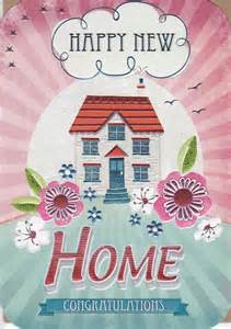 house amp flowers happy new home card karenza paperie