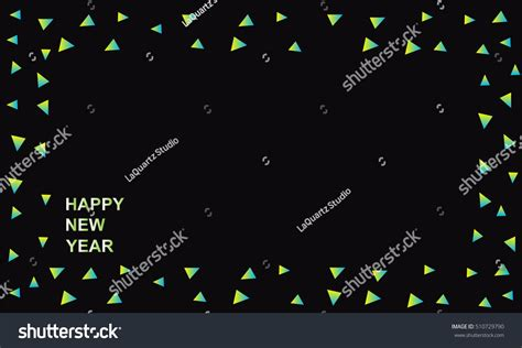 happy happy new year book happy new year 2017 geometric modern stock vector