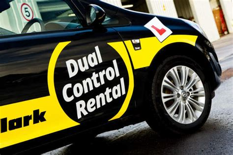 Manage the cost of learning to drive: hire a dual control