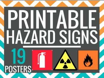 printable safety poster lab safety signs printable science symbols worksheet lab