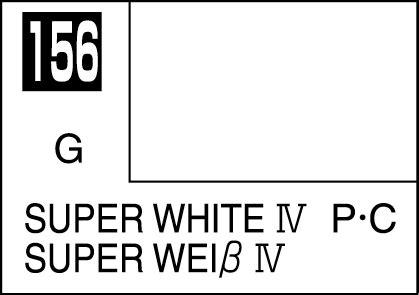 Mr Color C156 White mr color paint white iv 10ml c156 gsi c 156 gunze sangyo mr hobby