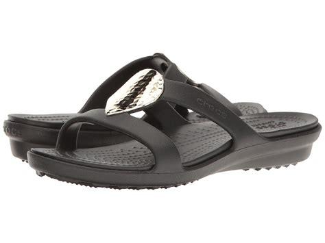 crocs sanrah sandal crocs sanrah embellished sandal at zappos