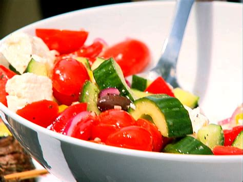 Ina Garten Greek Salad | greek salad recipe ina garten food network