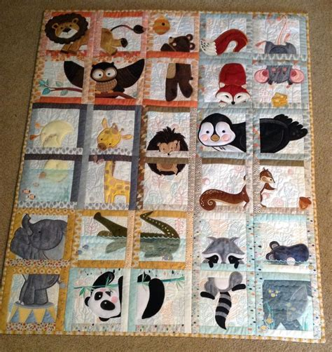 Animal Patchwork Quilt Patterns - 17 best ideas about animal quilts on quilting