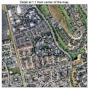 aerial photography map of san ramon ca california