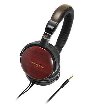 Ath Esw9 Sovereign Wood Headphones by Audio Technica Ath Esw9 Sovereign Wood Headphones