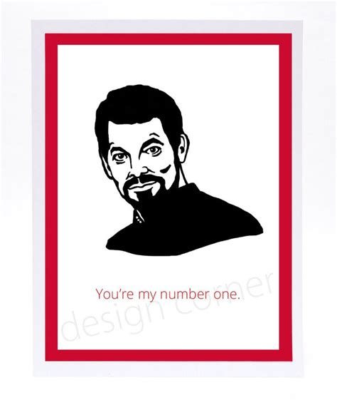 trek valentines day cards illustrated will riker trek s card