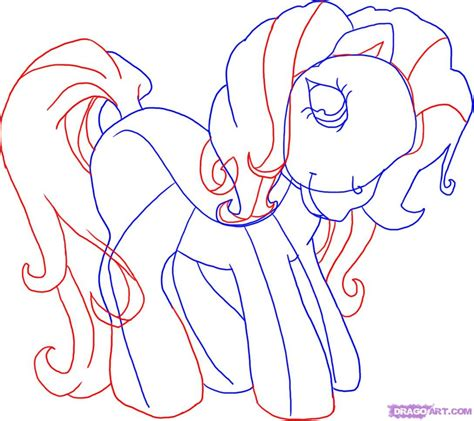 my doodle drawings how to draw my pony step by step