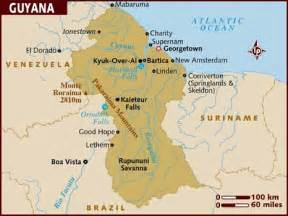 map of guyana south america pics of guyana