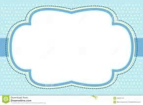 frame azul ornamentado da bolha fotografia de stock