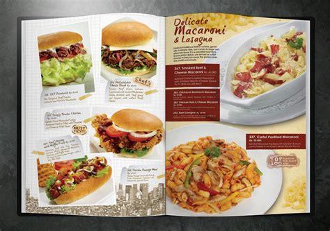 desain menu makanan cafe desain menu cafe