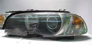 bmw e46 2dr xenon headlight set w ballasts 325ci 330ci