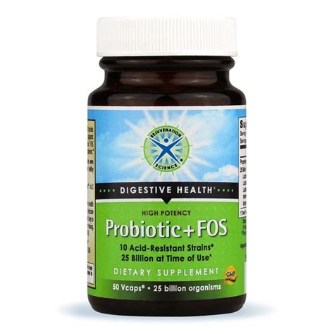 What Probiotic Strain Detoxes by High Potency Probiotic Fos With 10 Strains And 25